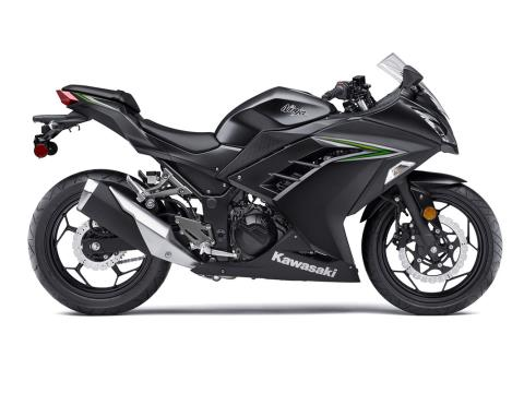 2016 Kawasaki Ninja 300 in Johnson City, Tennessee - Photo 1