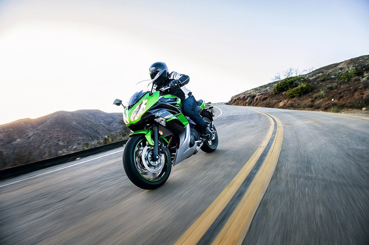 2016 Kawasaki Ninja 650 ABS in Nevada, Iowa