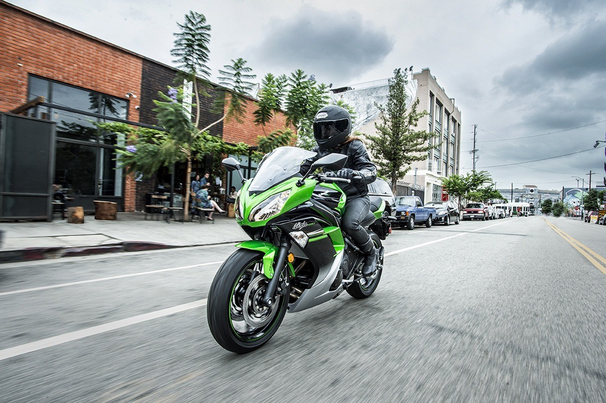 2016 Kawasaki Ninja 650 ABS in North Reading, Massachusetts