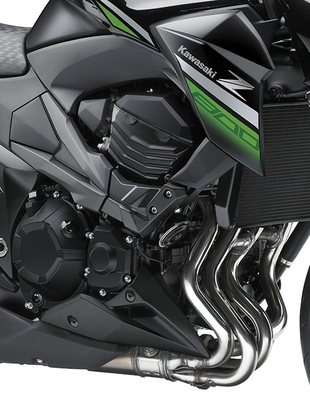 2016 Kawasaki Z800 ABS in Monroe, Michigan - Photo 10