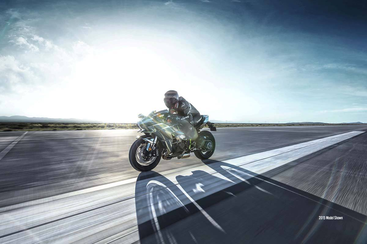 2016 Kawasaki Ninja H2 in Romney, West Virginia