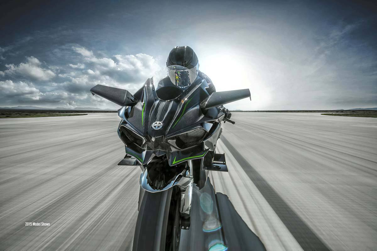 2016 Kawasaki Ninja H2R in Romney, West Virginia