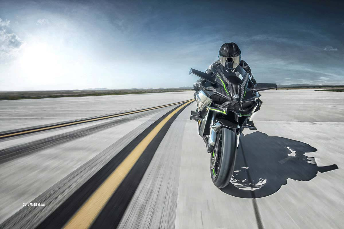 2016 Kawasaki Ninja H2R in Bristol, Virginia