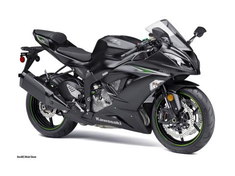 2016 Kawasaki Ninja ZX-6R in Freeport, Illinois