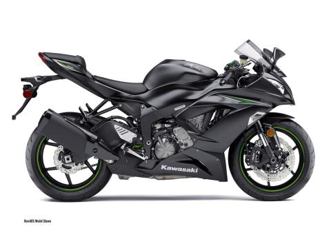 2016 Kawasaki Ninja ZX-6R in North Reading, Massachusetts