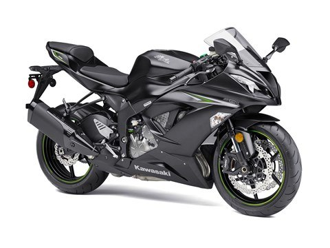 2016 Kawasaki Ninja ZX-6R ABS in North Reading, Massachusetts
