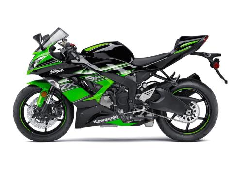 2016 Kawasaki Ninja ZX-6R ABS KRT Edition in Kingsport, Tennessee