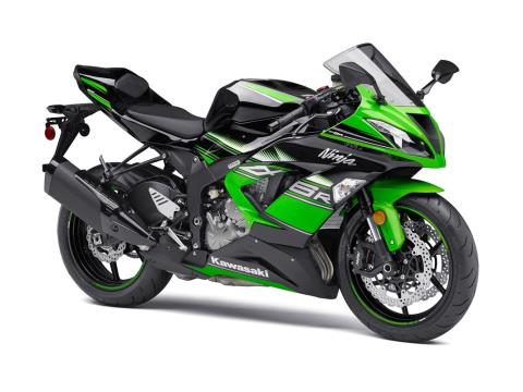 2016 Kawasaki Ninja ZX-6R ABS KRT Edition in Junction City, Kansas