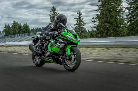 2016 Kawasaki Ninja ZX-6R ABS KRT Edition in Mount Vernon, Ohio