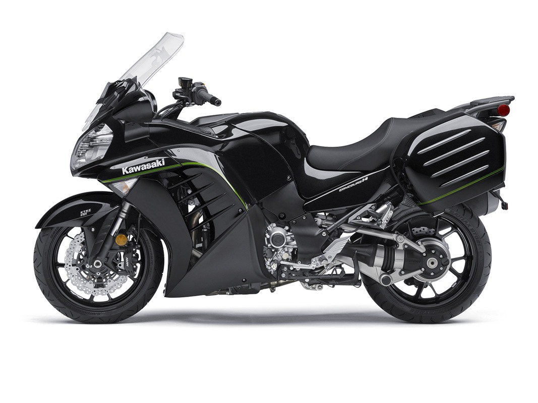 2016 Kawasaki Concours 14 ABS in Hickory, North Carolina