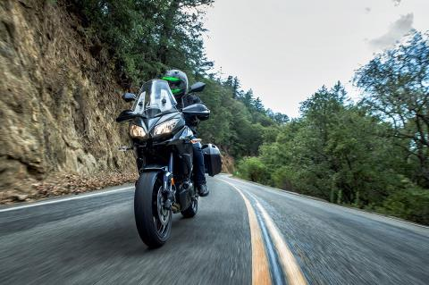 2016 Kawasaki Versys 650 LT in Rock Falls, Illinois