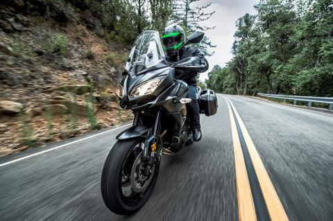 2016 Kawasaki Versys 650 LT in Freeport, Illinois