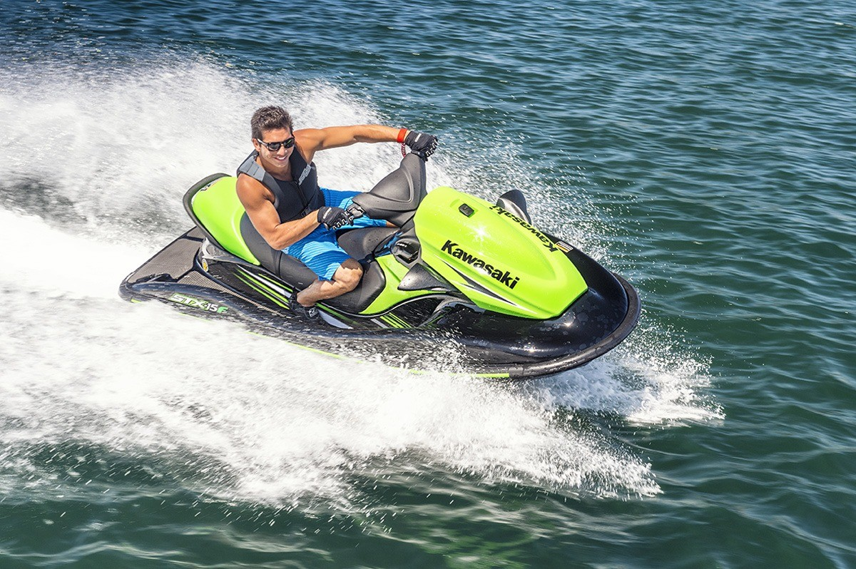 new 2016 kawasaki jet ski stx 15f ebony lime green watercraft in la marque tx mainland. Black Bedroom Furniture Sets. Home Design Ideas