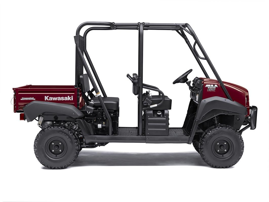 2016 Kawasaki Mule 4010 Trans4x4 in Romney, West Virginia