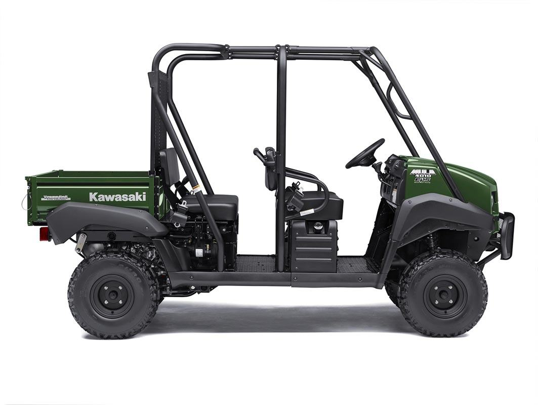 2016 Kawasaki Mule 4010 Trans4x4 in North Reading, Massachusetts