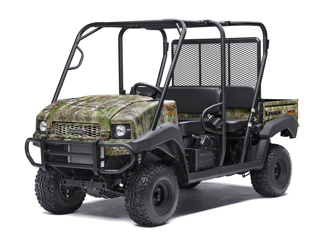 2016 Kawasaki Mule 4010 Trans4x4 Camo in North Reading, Massachusetts