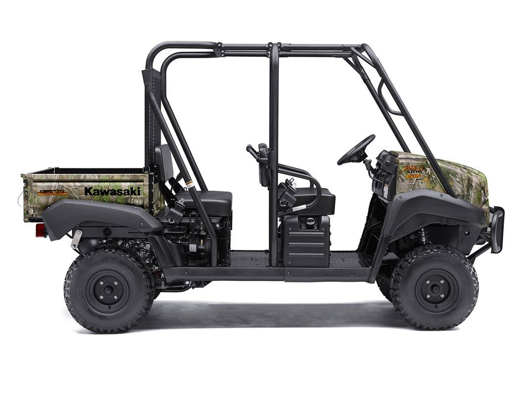 2016 Kawasaki Mule 4010 Trans4x4 Camo in Romney, West Virginia