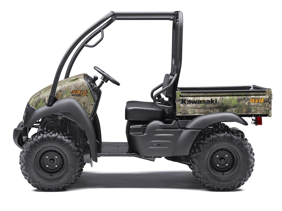 2016 Kawasaki Mule 610 4x4 XC Camo in North Reading, Massachusetts - Photo 2