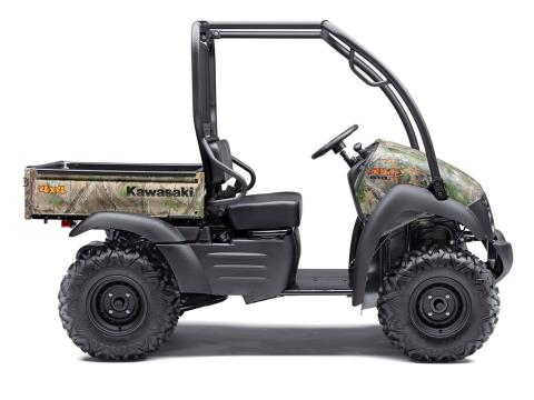 2016 Kawasaki Mule 610 4x4 XC Camo in North Reading, Massachusetts