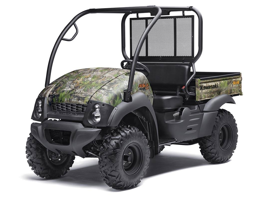 2016 Kawasaki Mule 610 4x4 XC Camo in Harrisburg, Illinois