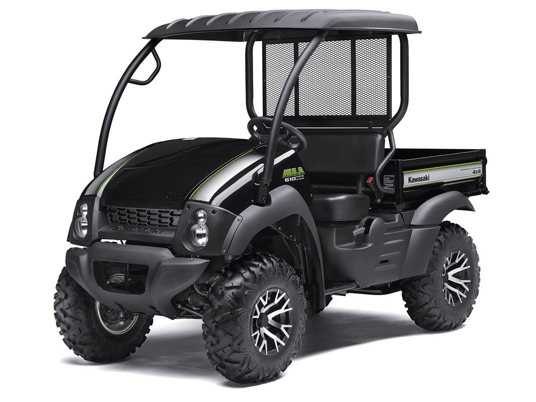 2016 Kawasaki Mule 610 4x4 XC SE in North Reading, Massachusetts