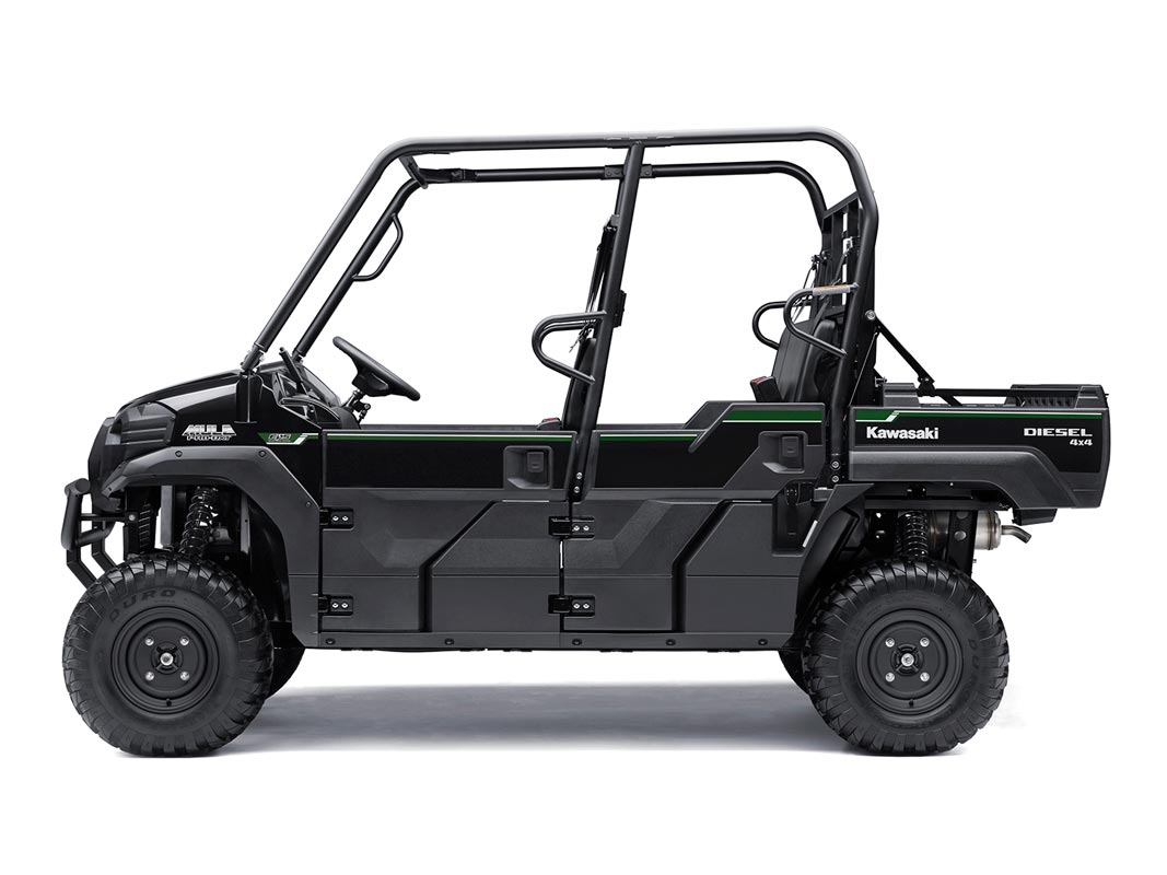 2016 Kawasaki Mule Pro-DXT EPS Diesel in North Reading, Massachusetts - Photo 2