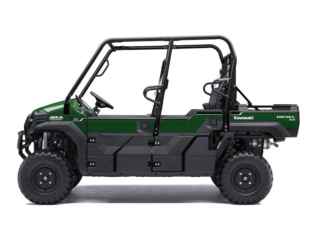 2016 Kawasaki Mule Pro-DXT EPS Diesel in New Castle, Pennsylvania