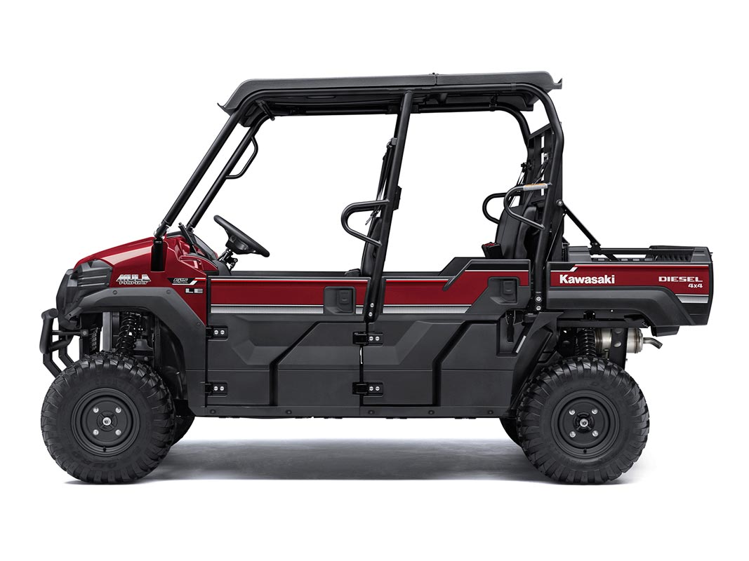 2016 Kawasaki Mule Pro-DXT EPS LE Diesel in North Reading, Massachusetts - Photo 3