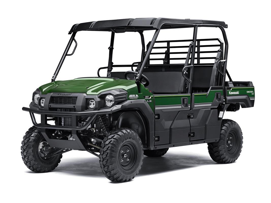 2016 Kawasaki Mule Pro-DXT EPS LE Diesel in North Reading, Massachusetts - Photo 2