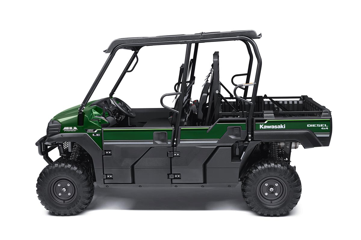 2016 Kawasaki Mule Pro-DXT EPS LE Diesel in North Reading, Massachusetts - Photo 7
