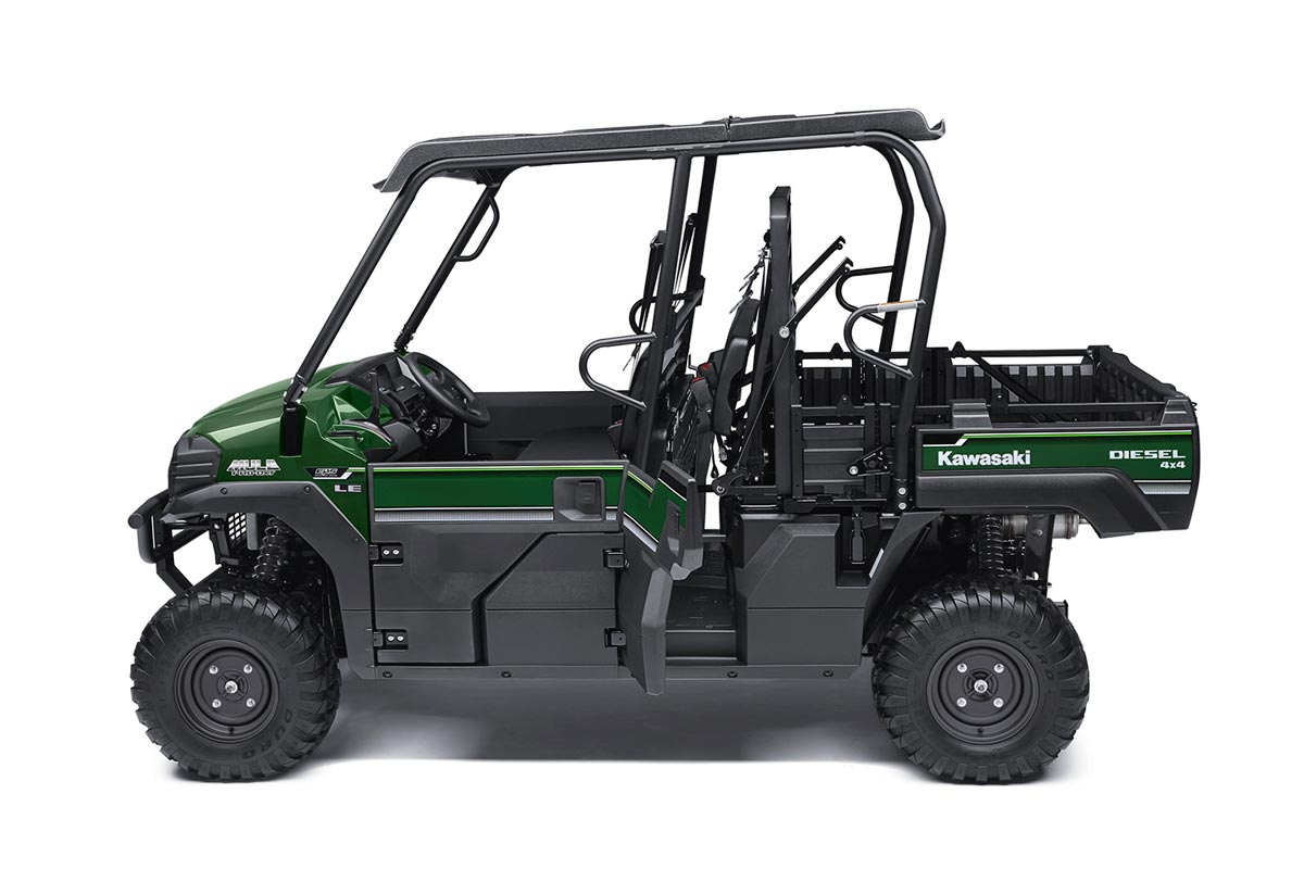 2016 Kawasaki Mule Pro-DXT EPS LE Diesel in North Reading, Massachusetts - Photo 6