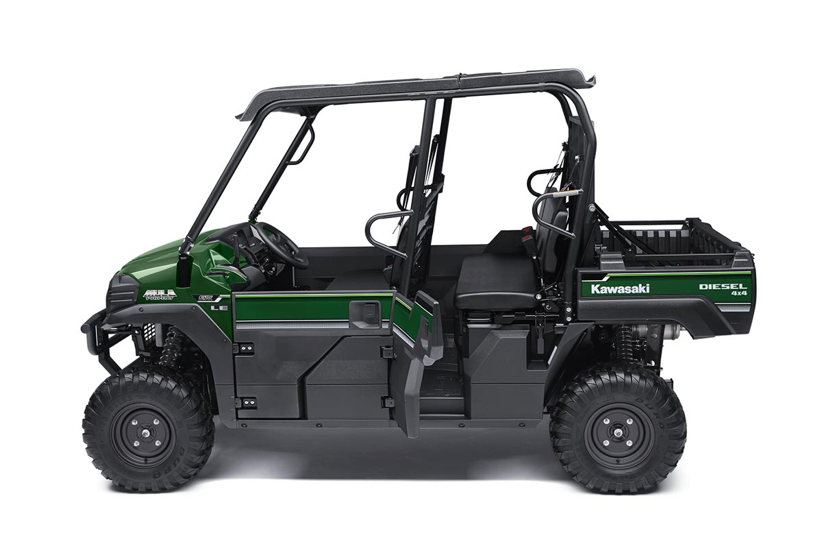 2016 Kawasaki Mule Pro-DXT EPS LE Diesel in North Reading, Massachusetts - Photo 4