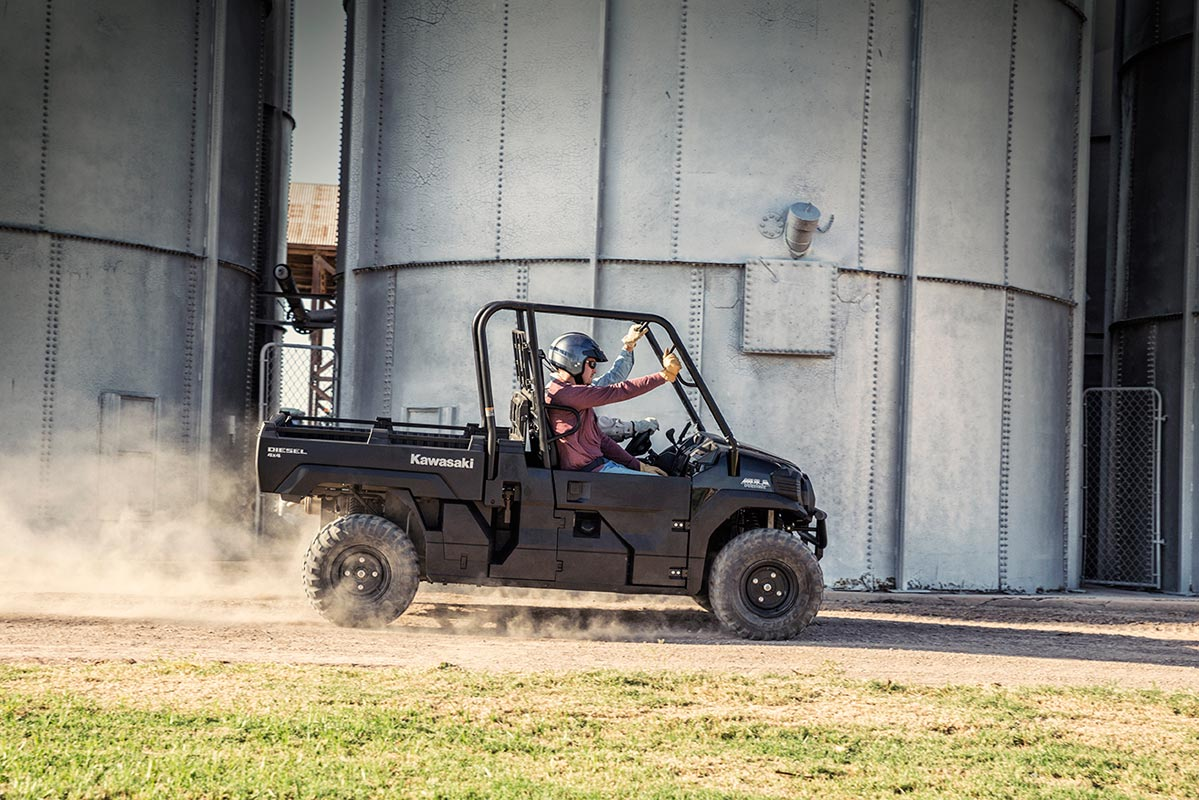 2016 Kawasaki Mule Pro-DX Diesel in Hickory, North Carolina