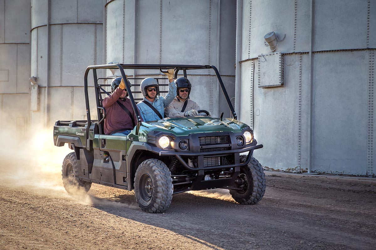 2016 Kawasaki Mule Pro-DX EPS Diesel in Bristol, Virginia