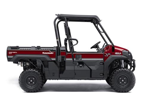 2016 Kawasaki Mule Pro-DX EPS LE Diesel in Winterset, Iowa