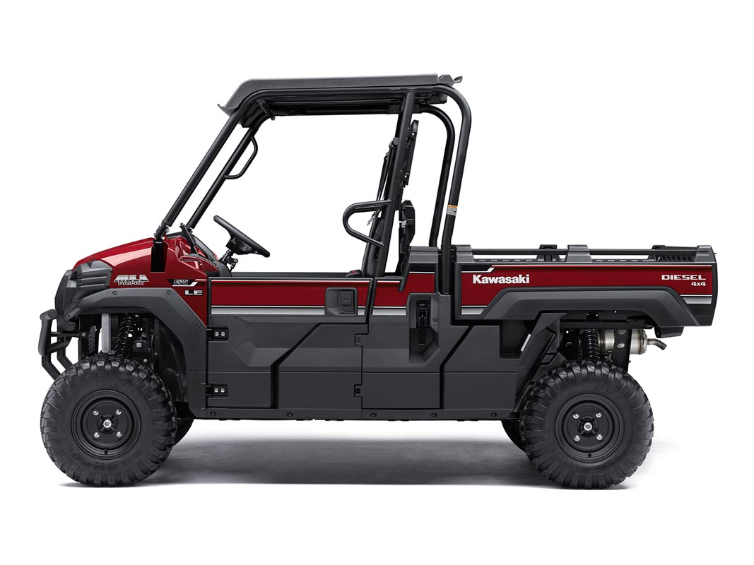 2016 Kawasaki Mule Pro-DX EPS LE Diesel in North Reading, Massachusetts - Photo 3