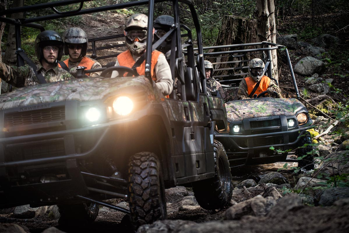 new 2016 kawasaki mule pro-fxt eps camo utility vehicles in