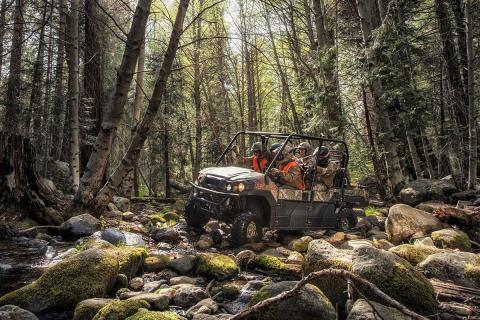 2016 Kawasaki Mule Pro-FXT EPS Camo in New Castle, Pennsylvania