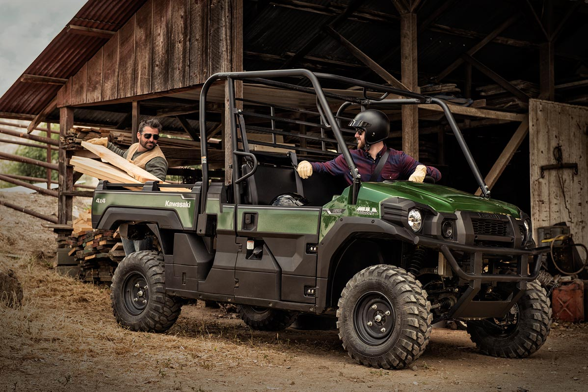 2016 Kawasaki Mule Pro-FX EPS in Nevada, Iowa