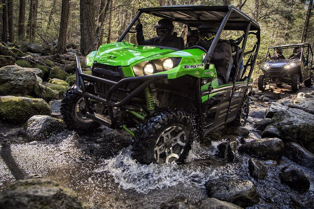 2016 Kawasaki Teryx4 LE in North Reading, Massachusetts - Photo 13