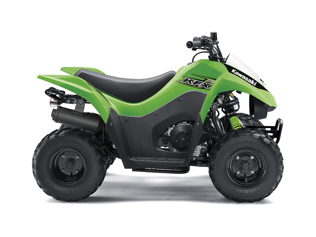 2017 Kawasaki KFX50 in Highland, Illinois