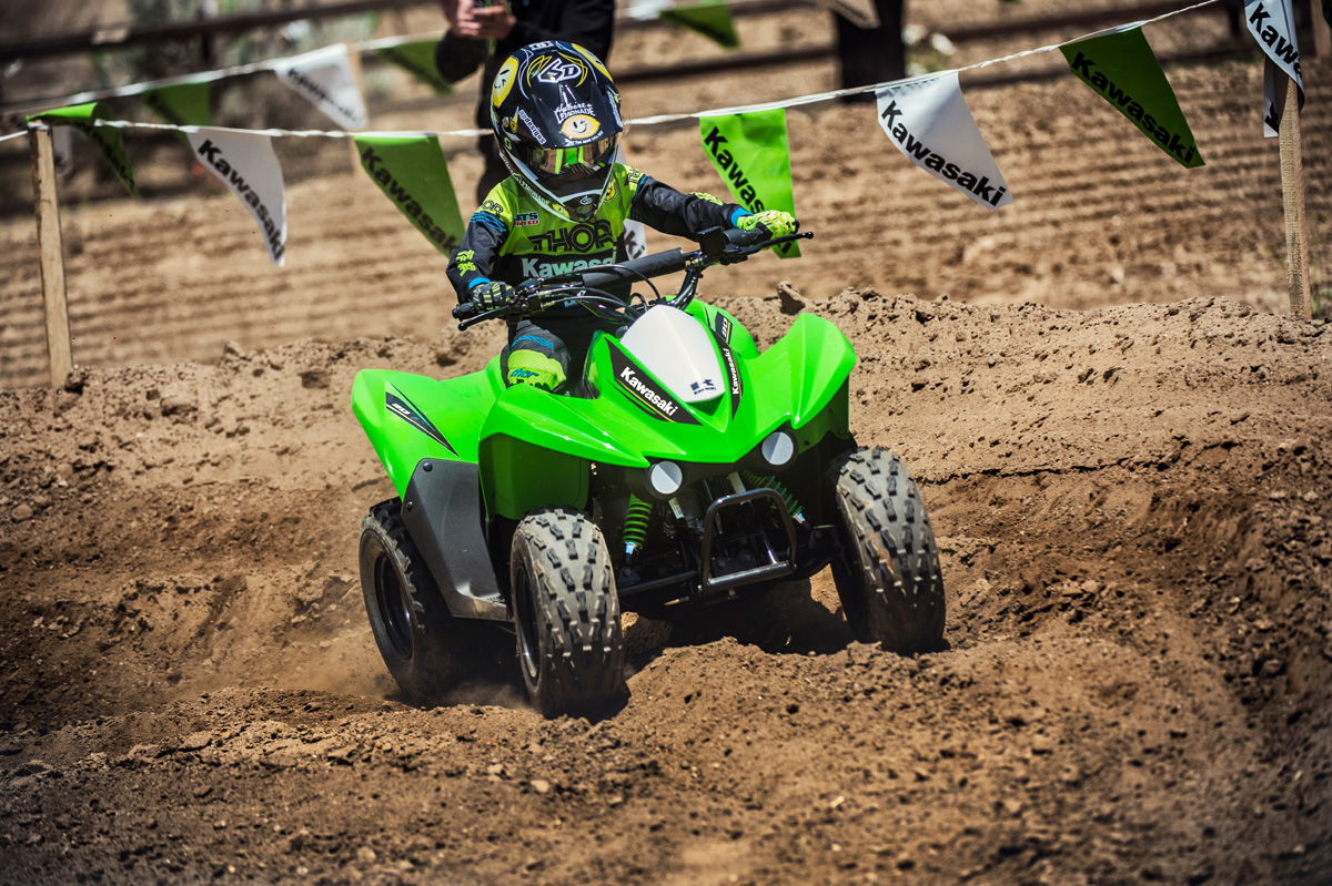 2017 Kawasaki KFX90 in Merced, California