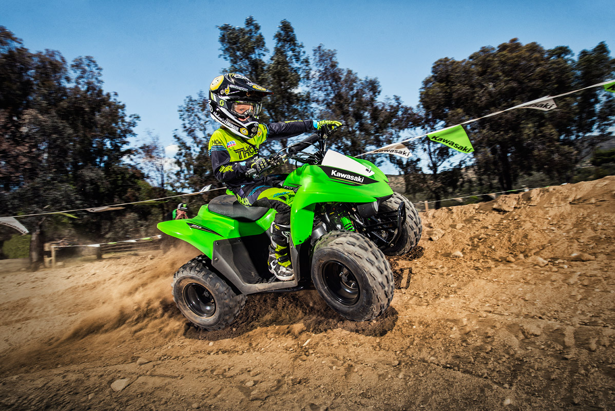 2017 Kawasaki KFX90 in Hickory, North Carolina