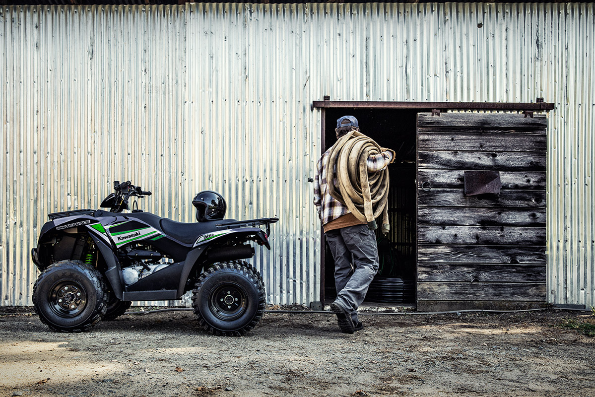 2017 Kawasaki Brute Force 300 in Sacramento, California