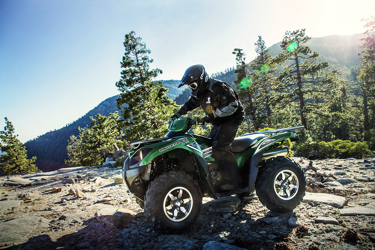 2017 Kawasaki Brute Force 750 4x4i in San Jose, California