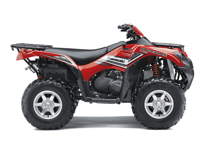 2017 Kawasaki Brute Force 750 4x4i EPS in Waterbury, Connecticut