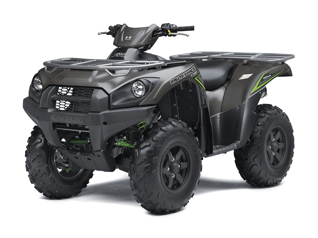 2017 Kawasaki Brute Force 750 4x4i EPS in Paw Paw, Michigan