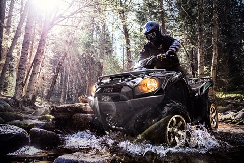 2017 Kawasaki Brute Force 750 4x4i EPS in South Paris, Maine