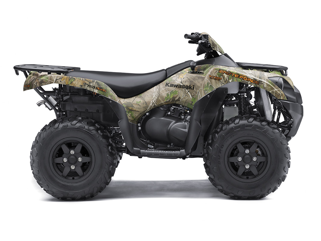 2017 Kawasaki Brute Force 750 4x4i EPS Camo in Mount Pleasant, Michigan