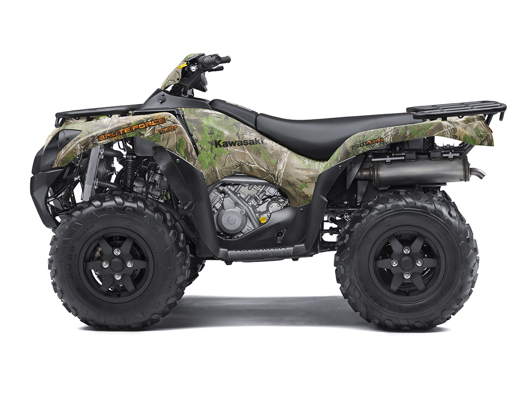 2017 Kawasaki Brute Force 750 4x4i EPS Camo in San Jose, California